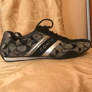Black coach sneakers Jayme